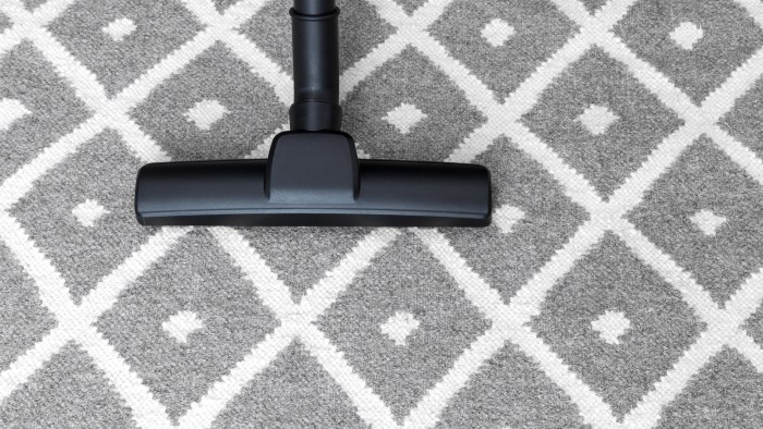 Vacuum on carpet