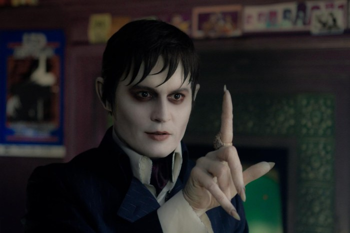 IMAGE: Depp in Dark Shadows
