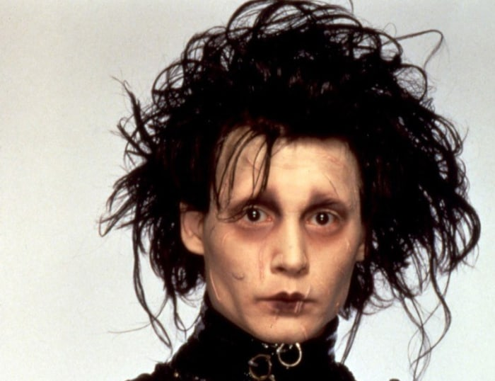 IMAGE: Johnny Depp as Edward Scissorhands