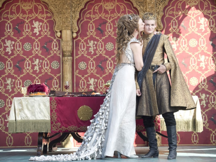 Image: Margaery and Joffrey