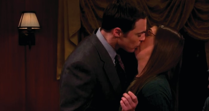 Image: Sheldon and Amy