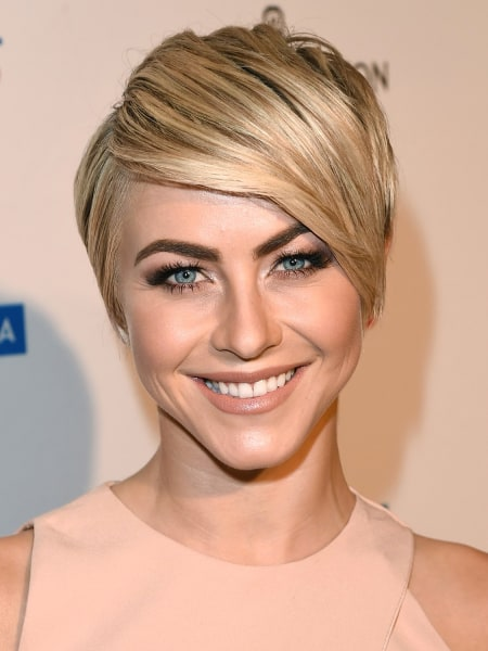 Julianne Hough, short hair