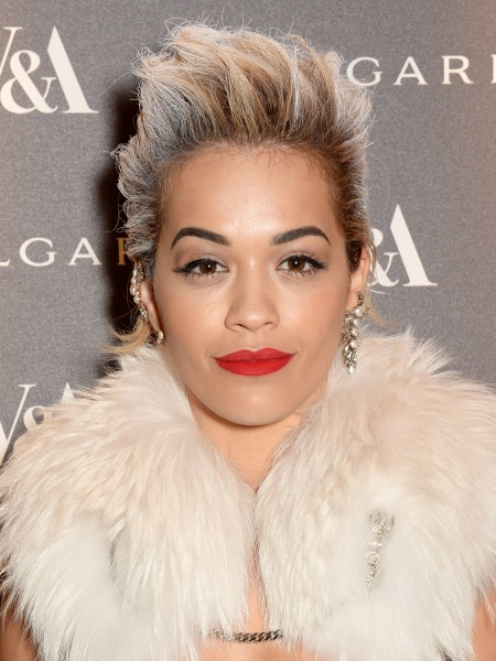Rita Ora, short hair