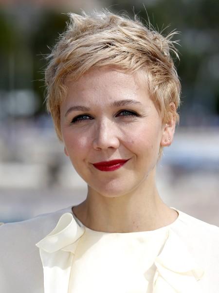 Maggie Gyllenhaal, short hair