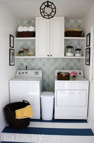 Kelly Marzka's laundry room