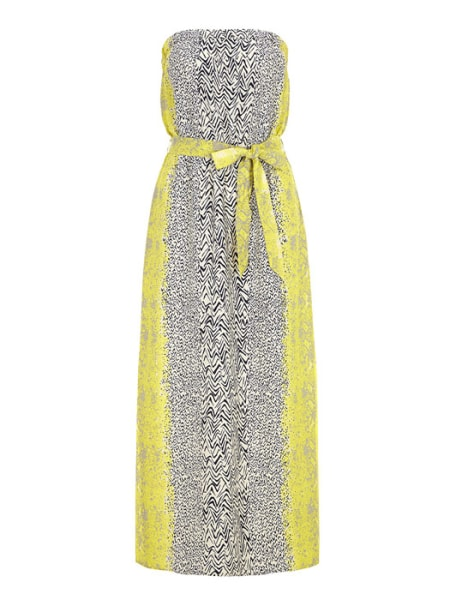 Dorothy Perkins bandeau maxi dress