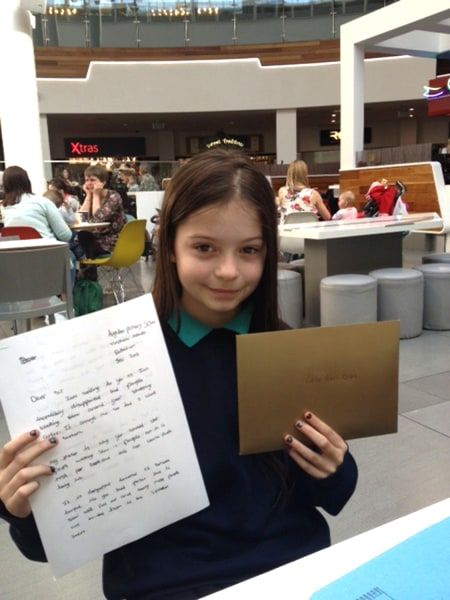Chloe Nash Lowe, 10, turned a school assignment into a change at her local mall when her letter spurred the mall to create fast and slow lanes to account for dawdling shoppers.