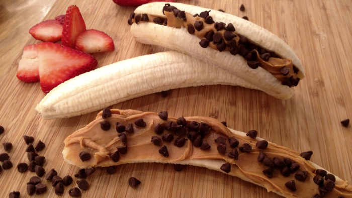 Peanut butter banana freeze pop
