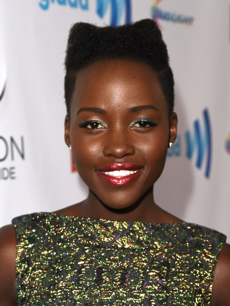 Cute short hairstyles: Lupita Nyong'o