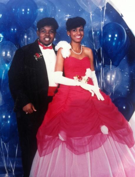 Tamron's prom dress