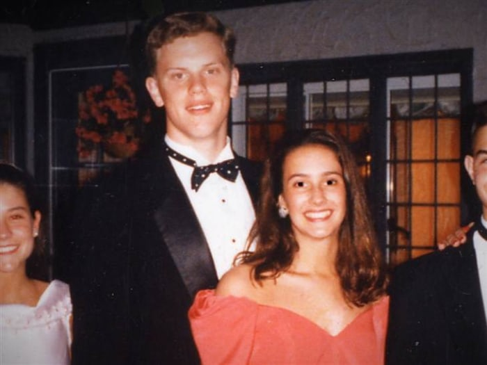 Willie with his prom date (and now wife!) Christina.