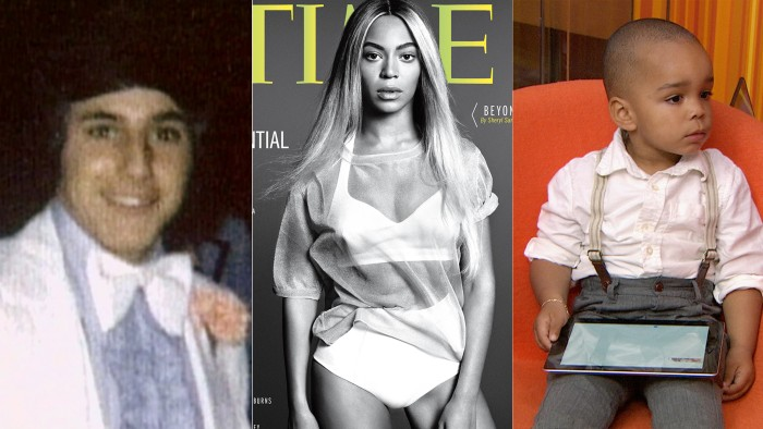 Matt shows off his white prom tux, Beyonce graces TIME's cover and TODAY staffers bring their kids to work.