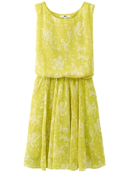 Cheap dresses: yellow
