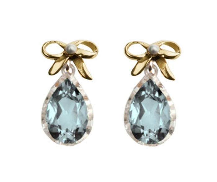 These earrings, from New Zealand-based TORY & KO, are among the jewelry the palace requested for Kate.