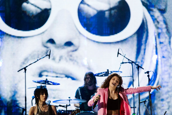 Image: Lorde, Joan Jett, Dave Grohl