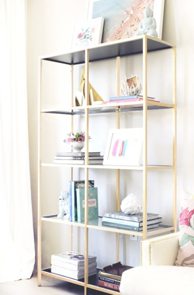 10 ikea hacks get high end looks at a low cost. Black Bedroom Furniture Sets. Home Design Ideas