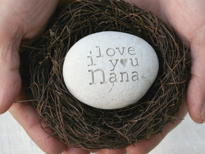 engraved gift nest