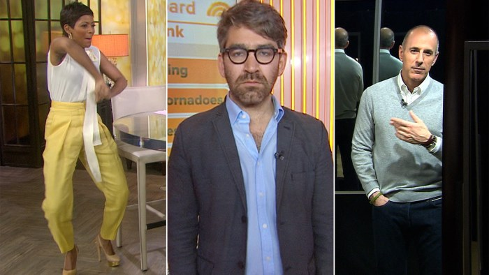 Tamron dances in her fancy yellow pants, Simon Ostrovsky wants to go back to Ukraine and Matt tells us what he sees in the mirror.