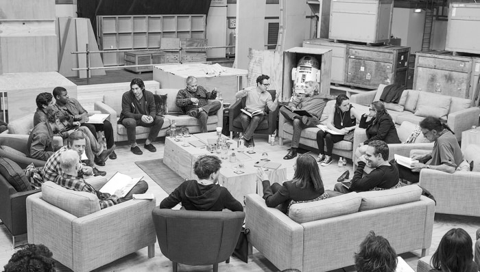 "Image: ""Star Wars: Episode VII"" cast"