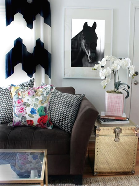 Stripes Chevron How To Mix Patterns In Decor Today Com