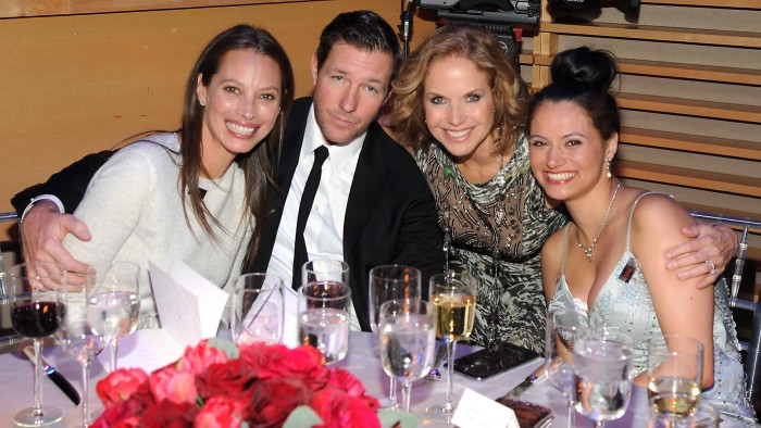 "Matt Lauer sat down with Christy Turlington Burns, Ed Burns, and old friend and former TODAY co-anchor Katie Couric, who are shown here at the TIME 100 gala along with activist Withelma ""T"" Ortiz Walker Pettigrew (far right)."