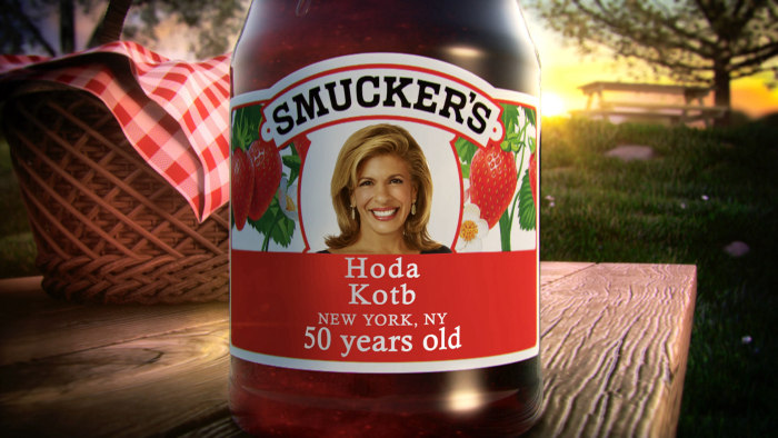 Hoda turns 50 this week!