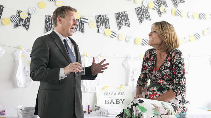 TODAY Show: Savannah Guthrie celebrates her baby shower with close friends and family in Manhattan on June 30, 2014.