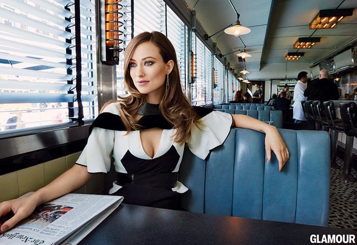 Image: Olivia Wilde in Glamour magazine