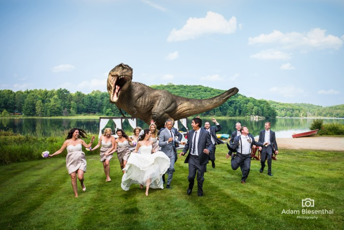 Image: Jeff Goldblum in wedding photo