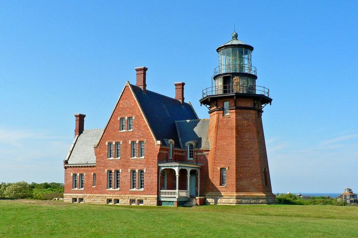 Block Island Southeast Lighthouse in Rhode Island.