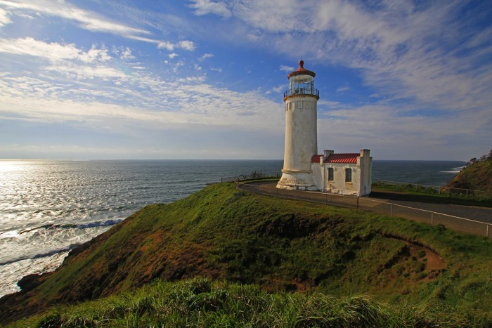 North Head Lighthouse at Cape Disappointment State Park in Washington state.