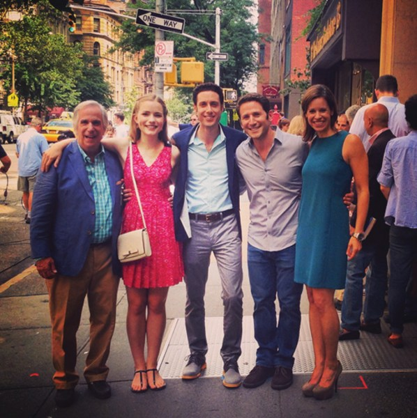 "Image: Jenna Wolfe and ""Royal Pains"" cast"