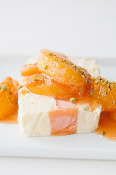 with peaches and cream peaches and cream semifreddo recept yummly