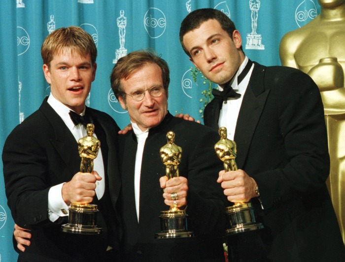 Image: Matt Damon, Ben Affleck, Robin Williams