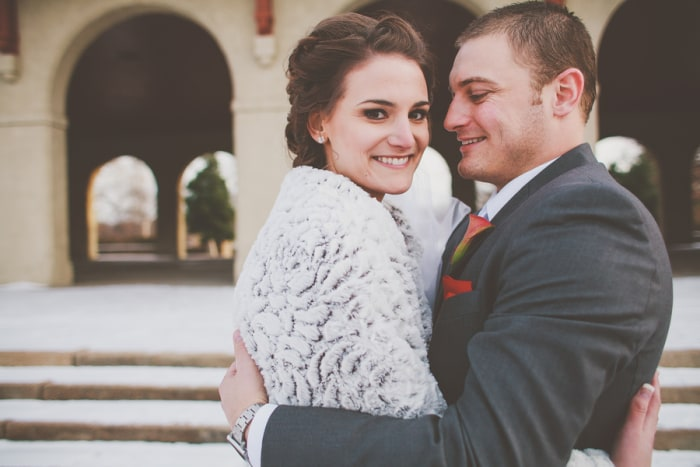 Keri and Paul Whitman were featured in TODAY's Real Weddings.