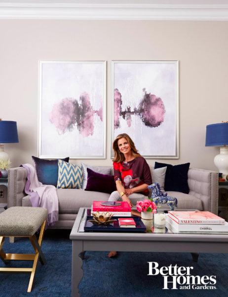 Natalie morales shares her living room makeover for Living room today