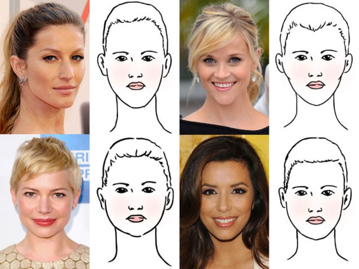 hairstyles for face shape
