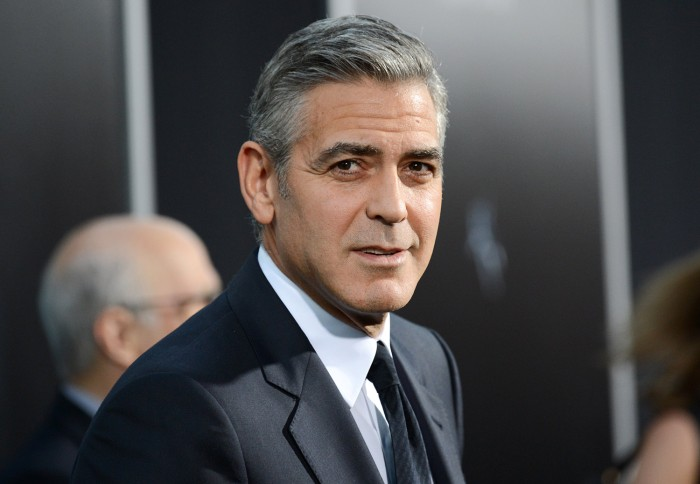 "FILE - In this Oct. 1, 2013 file photo actor George Clooney attends the premiere of ""Gravity"" at the AMC Lincoln Square Theaters, in New York. George ..."