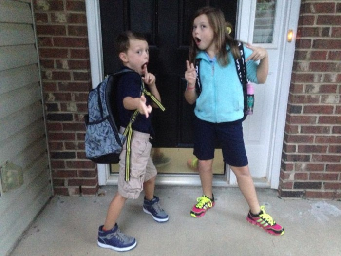 Too cool (but still going to school).