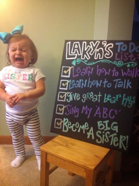7 creative baby announcements TODAY – Second Baby Announcement Ideas