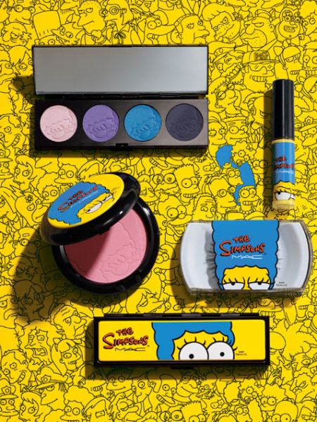 Marge Simpson for MAC Cosmetics. Simpson's makeup