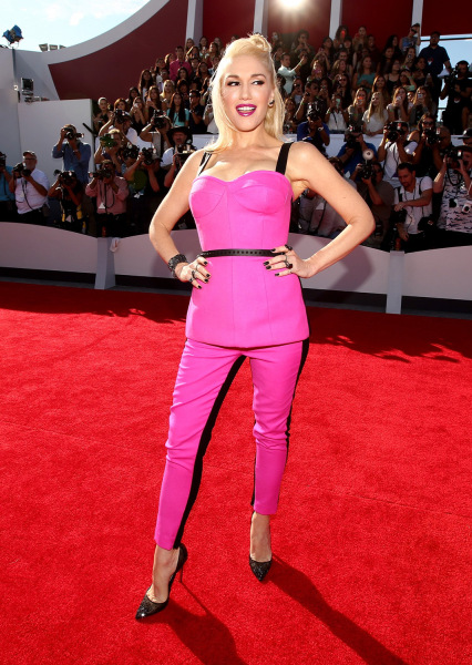 INGLEWOOD, CA - AUGUST 24:  Recording artist Gwen Stefani attends the 2014 MTV Video Music Awards at The Forum on August 24, 2014 in Inglewood, Califo...