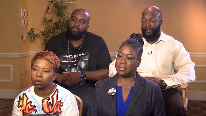 Parents of Michael Brown, Taryvon Martin