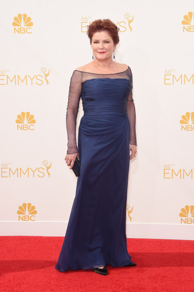 LOS ANGELES, CA - AUGUST 25:  Actress Kate Mulgrew attends the 66th Annual Primetime Emmy Awards held at Nokia Theatre L.A. Live on August 25, 2014 in...