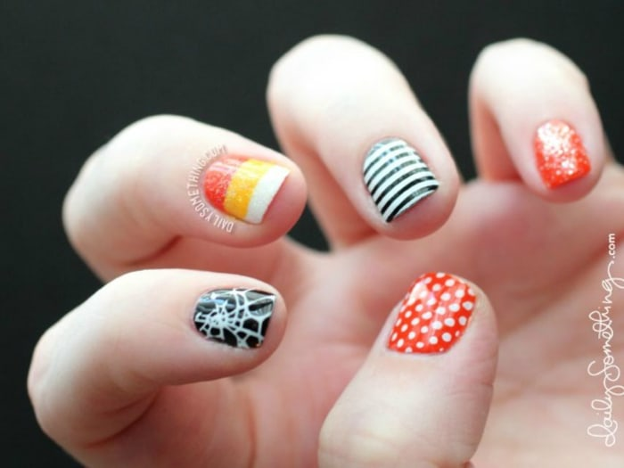 halloween nail art design ideas pumpkins spiderwebs candy corn and more todaycom