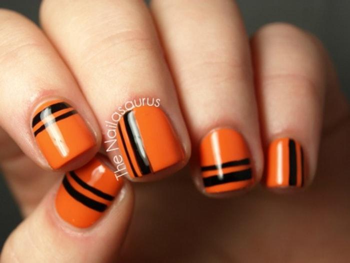Halloween Nail Art Design Ideas: Pumpkins, Spiderwebs ...