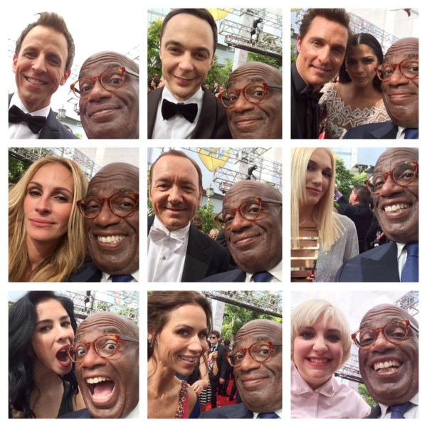 Al Roker and friends