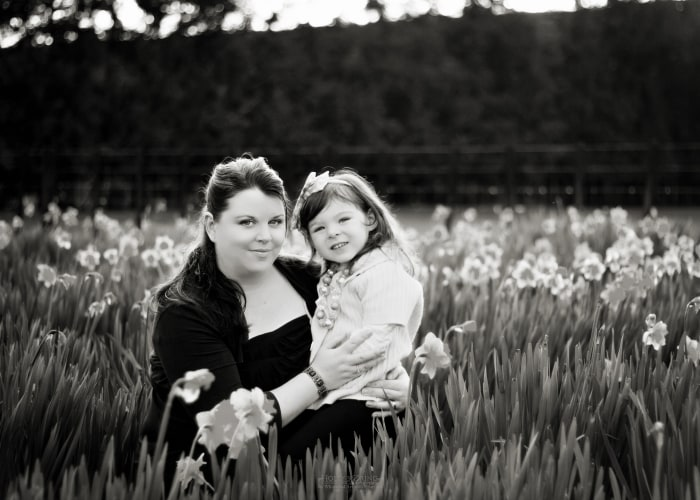 mom and violet