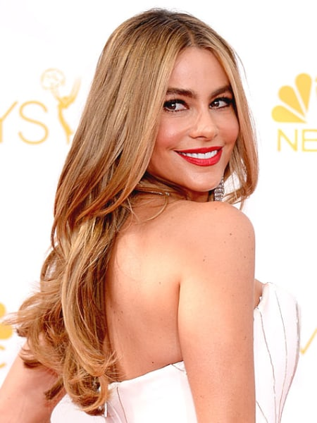Emmys 2014: Best Beauty Looks: Sofia Vergara
