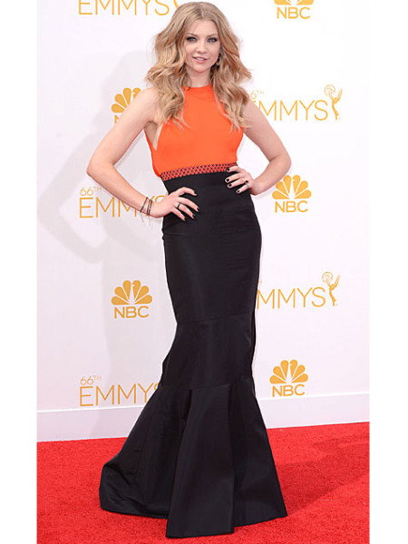 Emmys 2014: Best Beauty Looks: Natalie Dormer
